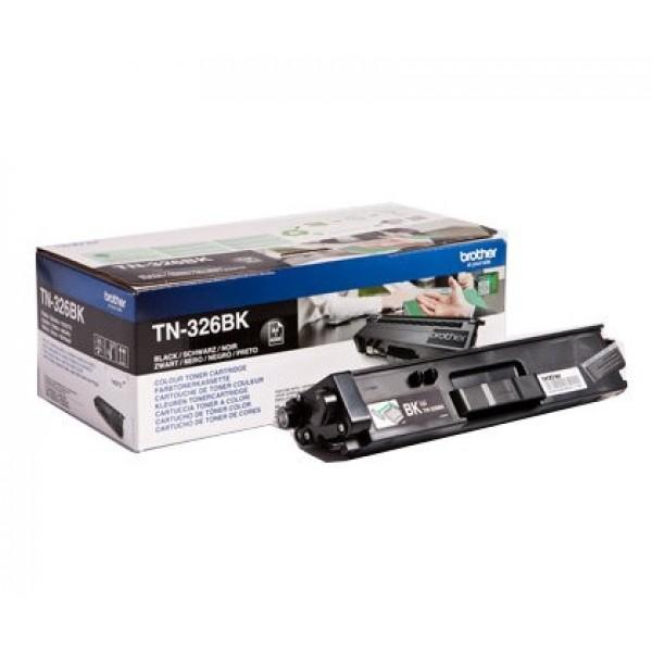 Зареждане на тонер касета  Brother TN-326BK