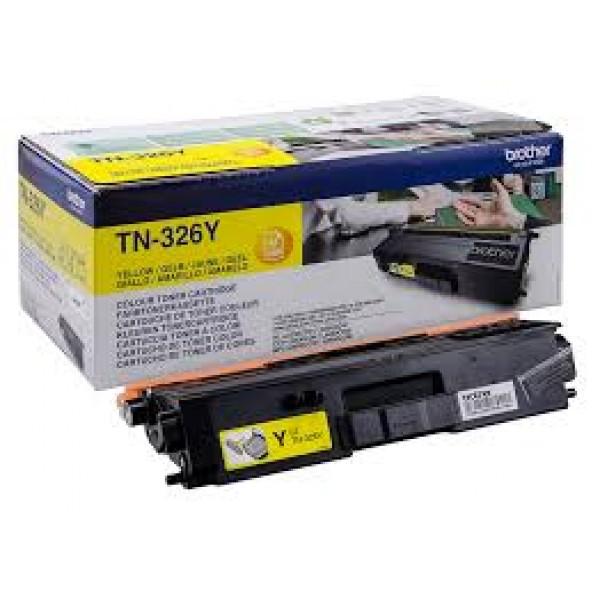 Зареждане на тонер касета   Brother TN-326Y