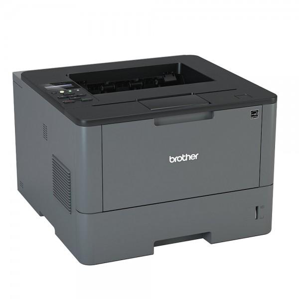 Лазерен монохромен принтер  Brother HL-L5200DW