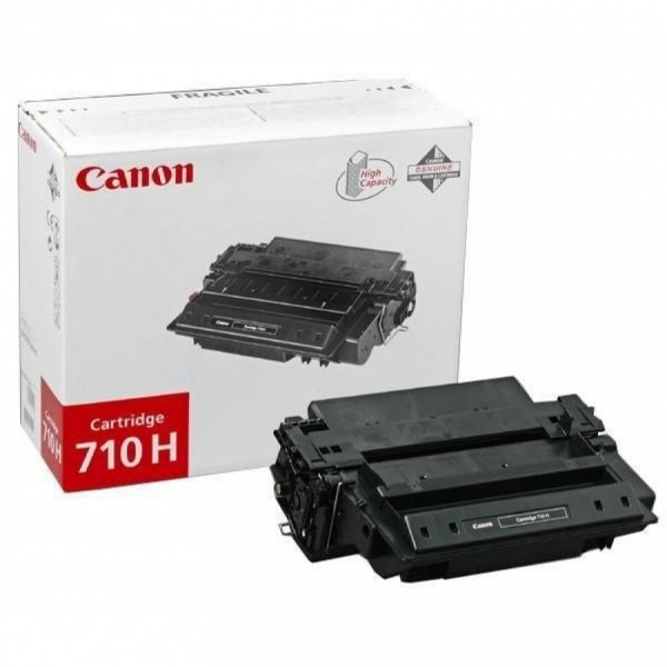 Зареждане на тонер касета Canon 710H