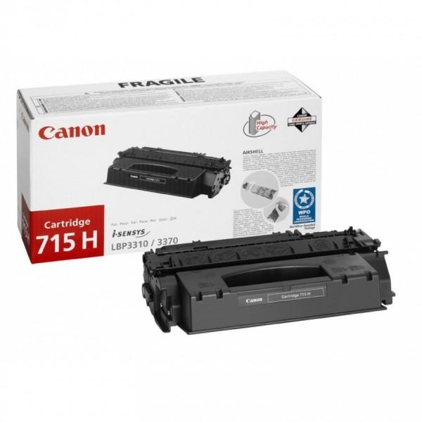 Зареждане на тонер касета  Canon CRG-715H