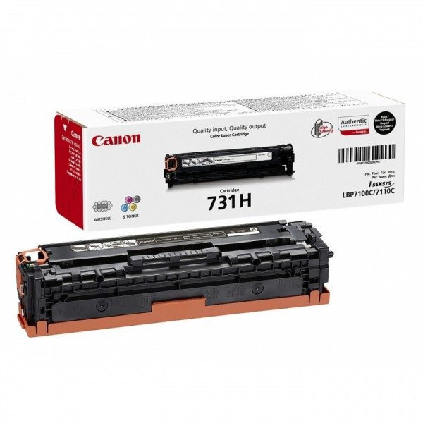 Зареждане на тонер касета  Canon CRG-731H