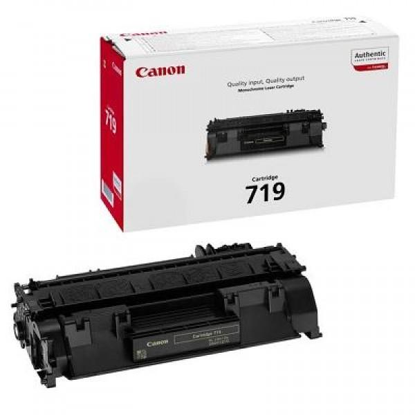 Зареждане на тонер касета Canon  LBP CRG 719A