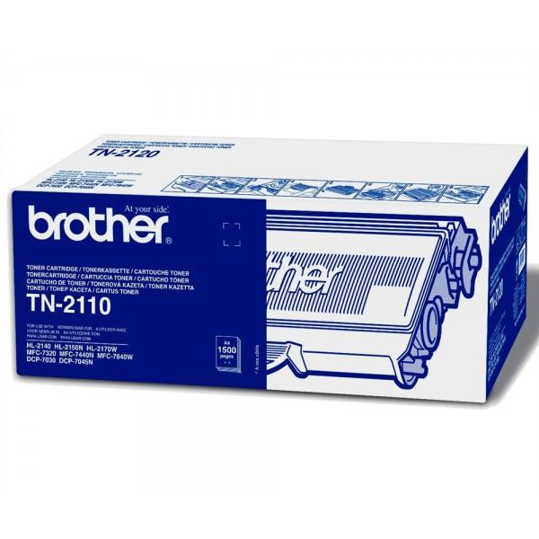 Зареждане на тонер касета  Brother TN-2110