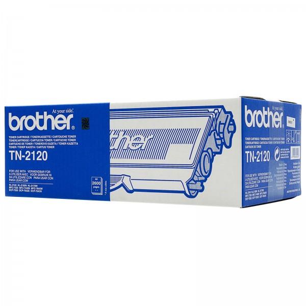 Зареждане на тонер касета  Brother TN-2120