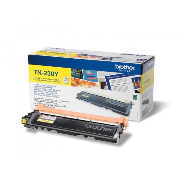 Зареждане на тонер касета  Brother TN-230Y