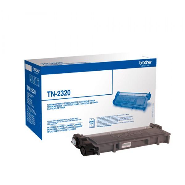 Зареждане на тонер касета Brother TN-2320