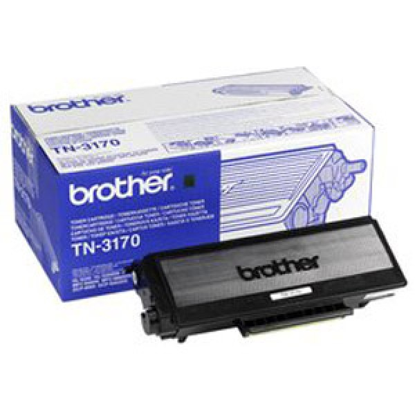 Зареждане на тонер касета  Brother TN-3170