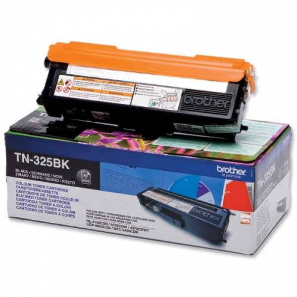 Зареждане на тонер касета Brother TN-325BK