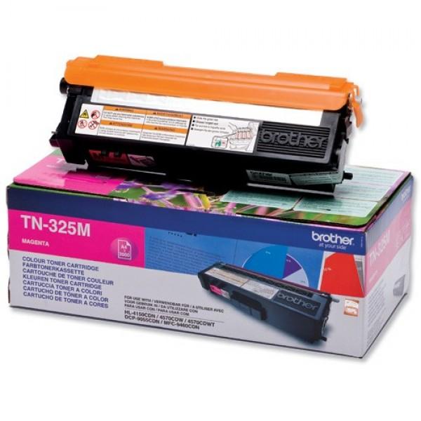 Зареждане на тонер касета   Brother TN-325M