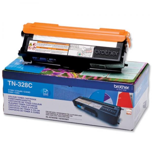 Зареждане на тонер касета  Brother TN-328C