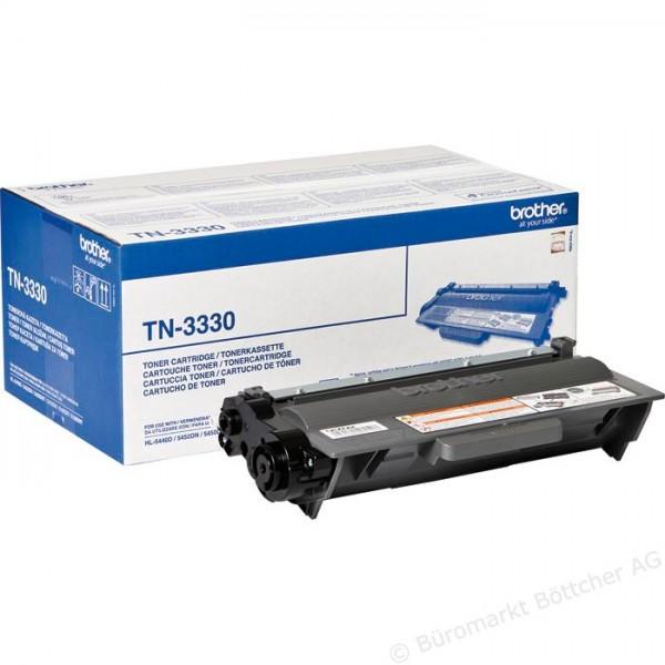 Зареждане на тонер касета  Brother TN-3330
