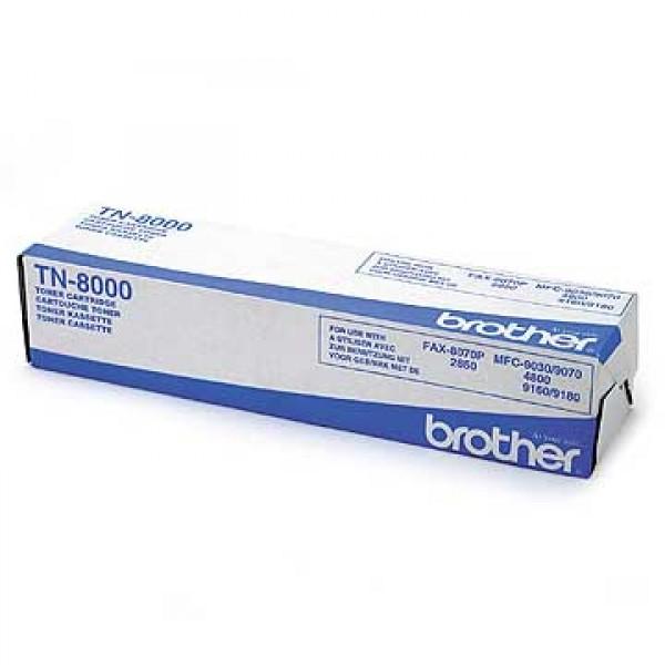 Зареждане на тонер касета  Brother TN-8000