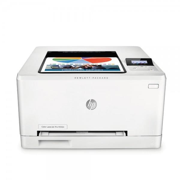 Лазерен цветен принтер  HP Color LaserJet Pro M252n Printer