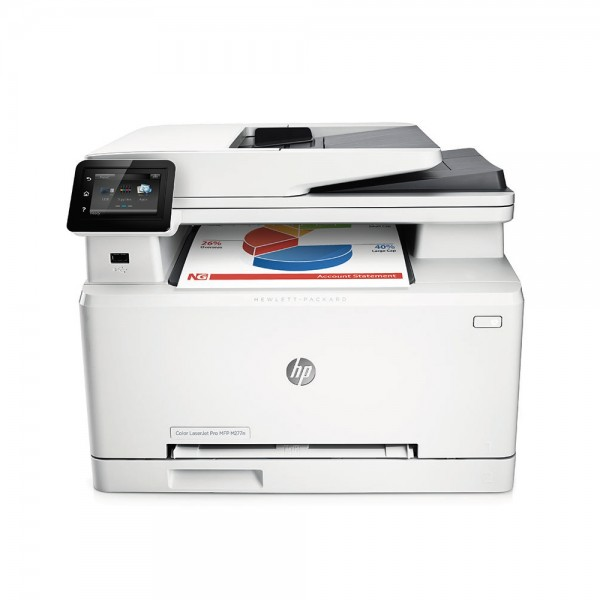 Цветно мултифункционално устройство  HP Color LaserJet Pro MFP M277dw