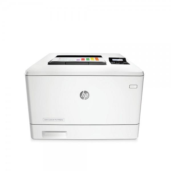 Лазерен цветен принтер  HP Color LaserJet Pro M452nw
