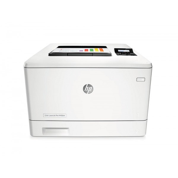 Лазерен цветен принтер  HP Color LaserJet Pro M452dn