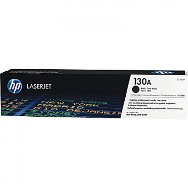 Зареждане на тонер касета HP 130A Black  - CF350A