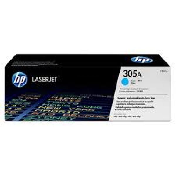 Зареждане на тонер касета HP 305A Cyan - CE411A