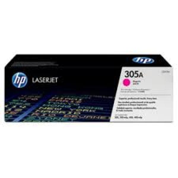 Зареждане на тонер касета HP 305A Magenta - CE413A