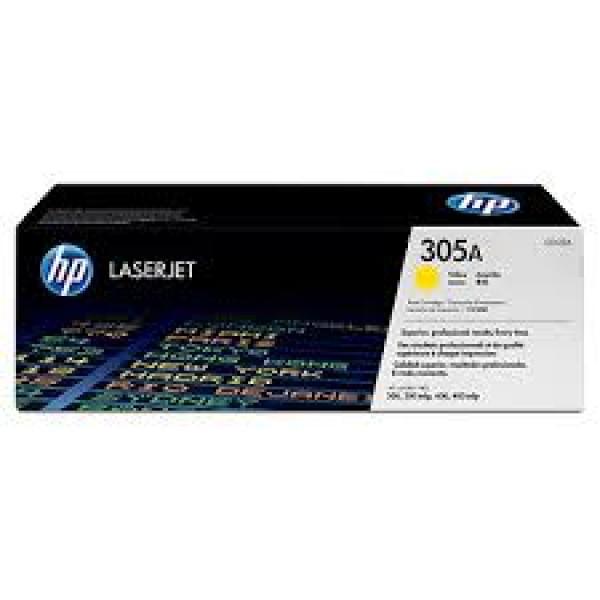 Зареждане на тонер касета HP 305A Yellow - CE412A