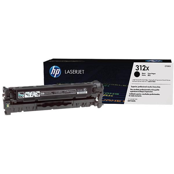 Зареждане на тонер касета HP 312X - CF380X