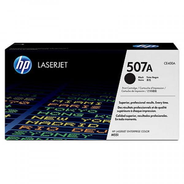 Зареждане на тонер касета HP 507A Black - CE400A