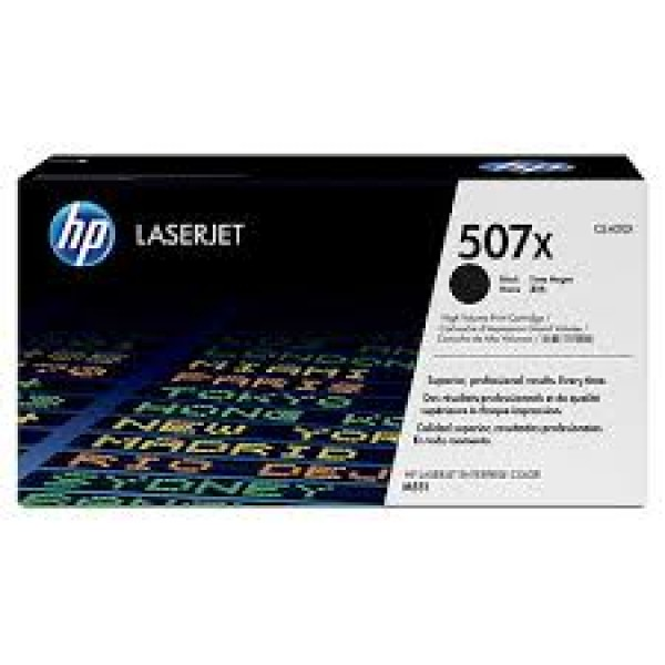 Зареждане на тонер касета HP 507X Black -  CE400X