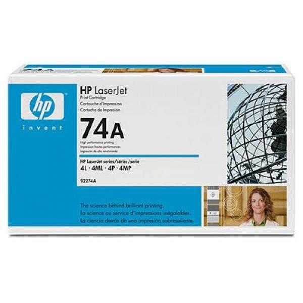 Зареждане на тонер касета HP 92274A