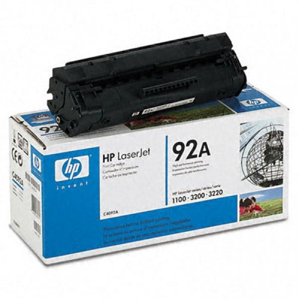 Зареждане на тонер касета HP C4092A