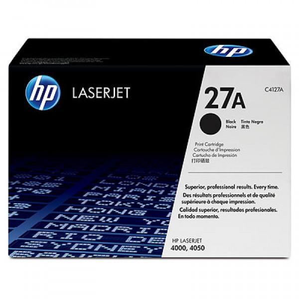 Зареждане на тонер касета HP C4127