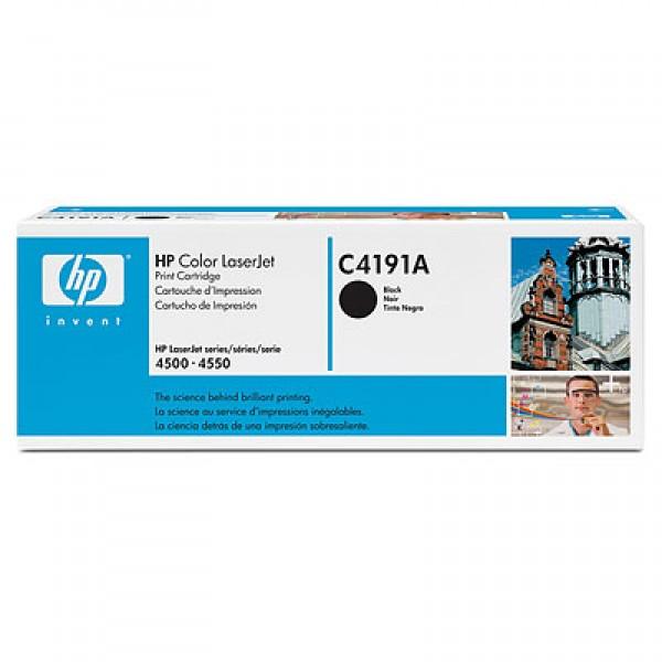 Зареждане на тонер касета HP C4191A black