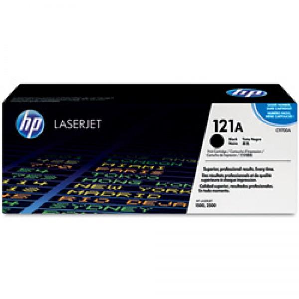 Зареждане на тонер касета HP C9700A -121A Black