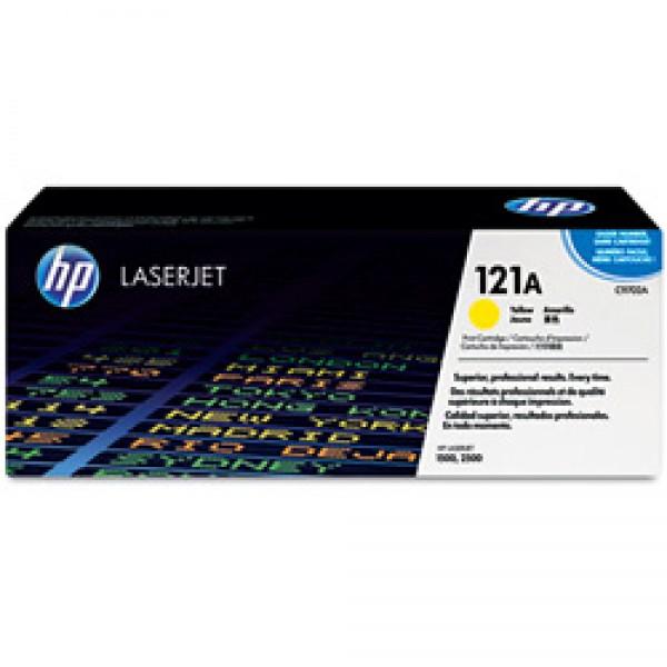 Зареждане на тонер касета HP C9702A - 121A Yellow