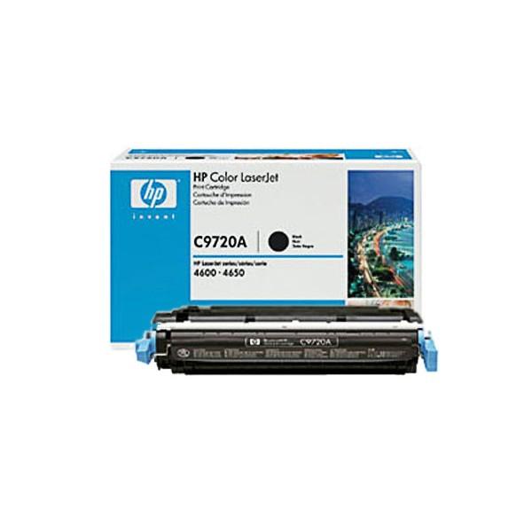 Зареждане на тонер касета HP  C9720A -  641A Black