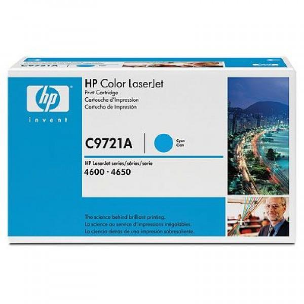 Зареждане на тонер касета HP C9721A - 641A Cyan