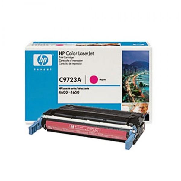 Зареждане на тонер касета HP  C9723A - 641A Magenta