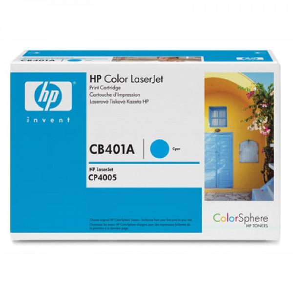 Зареждане на тонер касета HP CB401A -  642A Cyan