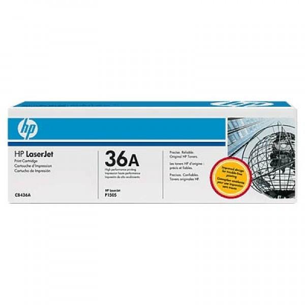 Зареждане на тонер касета HP CB436A