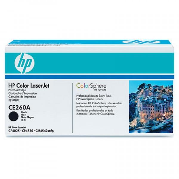 Зареждане на тонер касета HP CE260A