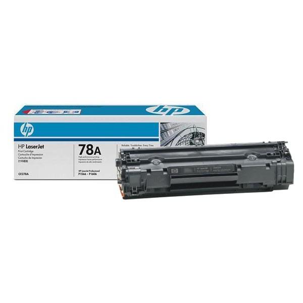 Зареждане на тонер касета HP CE278A