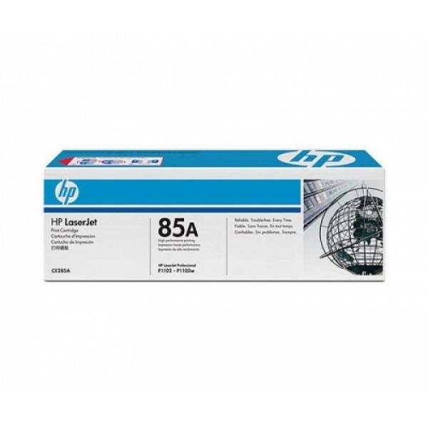 Зареждане на тонер касета HP CE285A