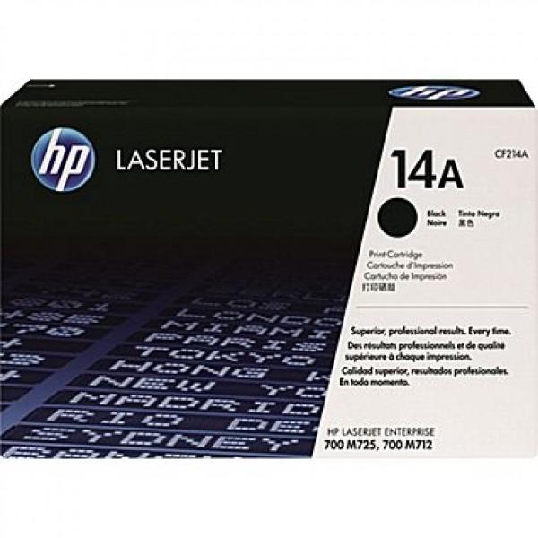 Зареждане на тонер касета HP CF214A