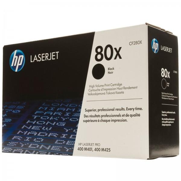 Зареждане на тонер касета HP CF280X