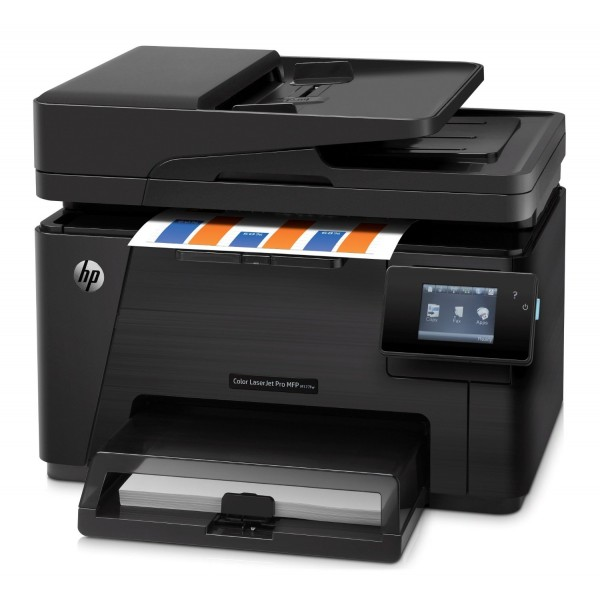 Цветно мултифункционално устройство  HP Color LaserJet Pro MFP M177fw