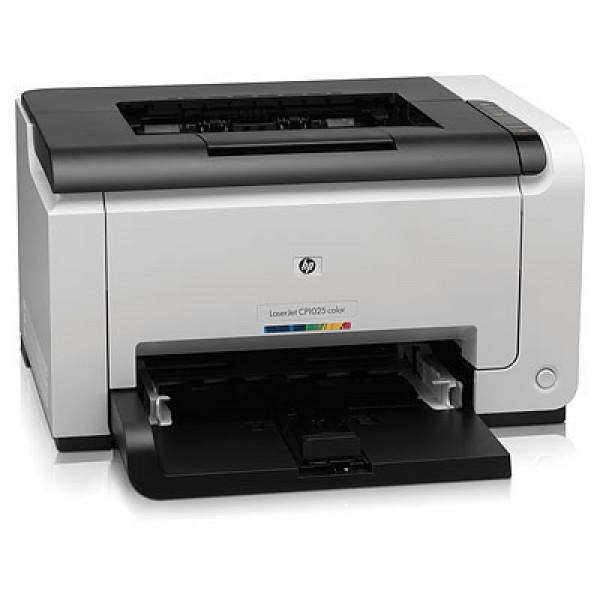 Лазерен цветен принтер  HP LaserJet CP1025