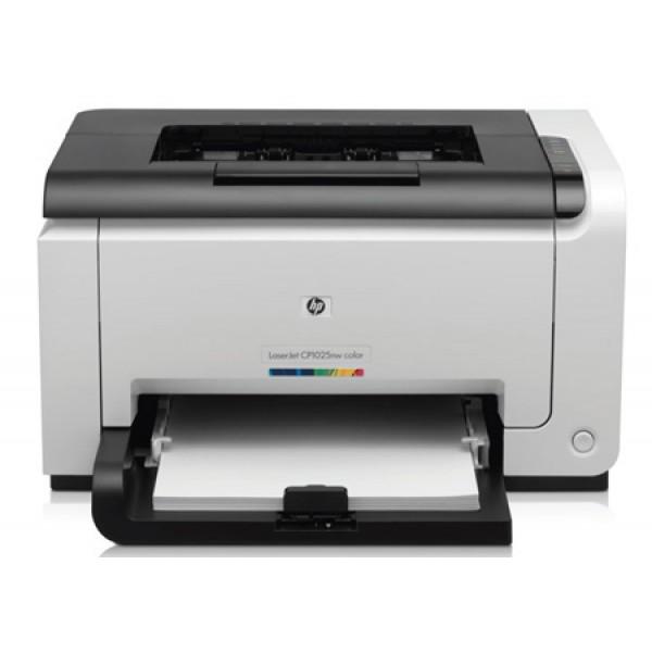 Лазерен цветен принтер  HP LaserJet CP1025nw
