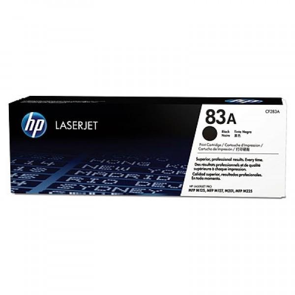 Зареждане на тонер касета HP CF283A