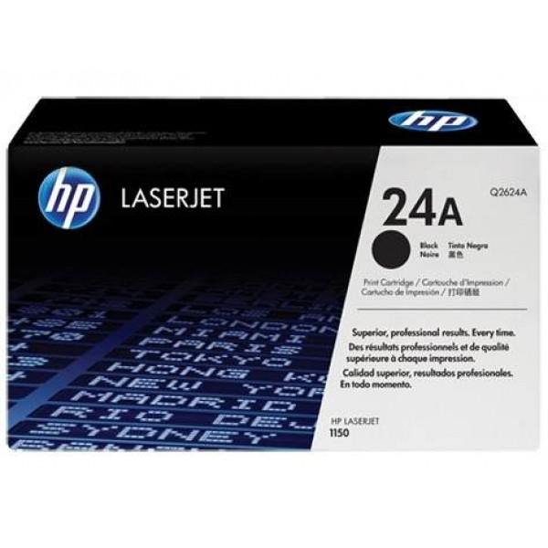 Зареждане на тонер касета HP Q2624A