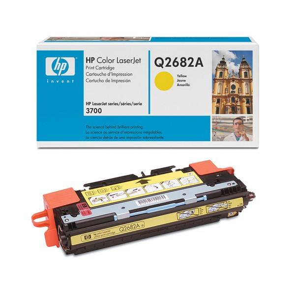 Зареждане на тонер касета HP  Q2682A - 311A Yellow